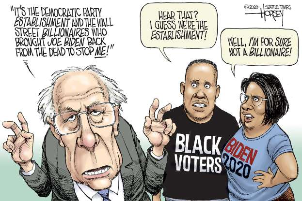 cartoon - Bernie - 27