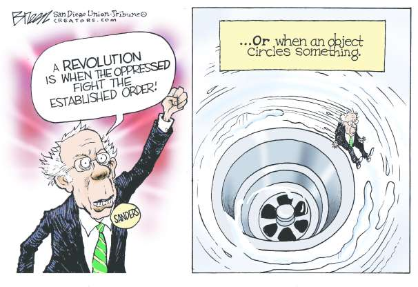 cartoon - Bernie - 31