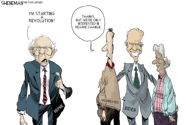 cartoon - Bernie - 25