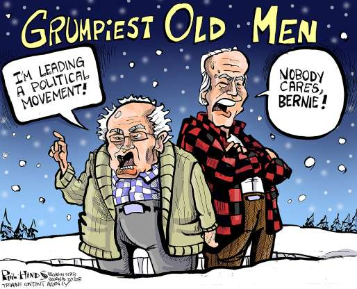 cartoon - Bernie - 29
